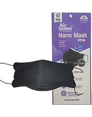 AirQUEEN nano filter mask Large, Black 10Pcs
