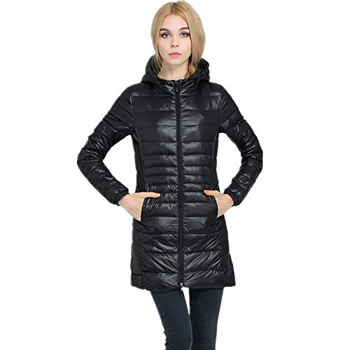 Packable Down Lightweight Women's Jackets Coat Powder Down Pillow Black Outwear LJYH na4gfFn