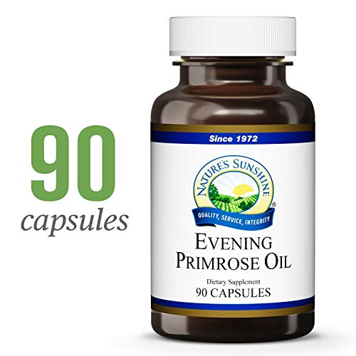 Nature's Sunshine Evening Primrose Oil, 90 softgel caps
