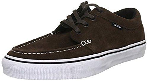 Vans - Zapatillas de skateboarding para hombre espresso