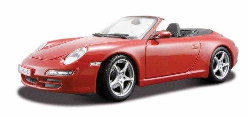 - Maisto 2005 Porsche 911 Carrera Cabriolet diecast model car 1:18 scale die cast by Dark Blue