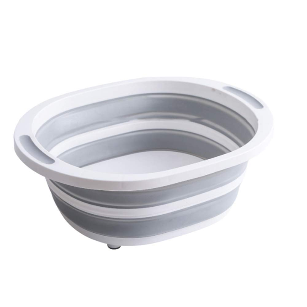 FNCUR High-end Travel Goods PP + TPR Material Compressed Water Basin Foldable Portable Wash Basin Baby Washbasin Washtub Home Use by FNCUR