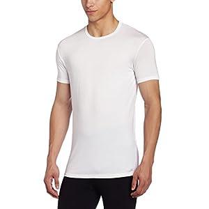 Calvin Klein Men's Body Modal Short Sleeve Crew Neck T-Shirt, White, Large