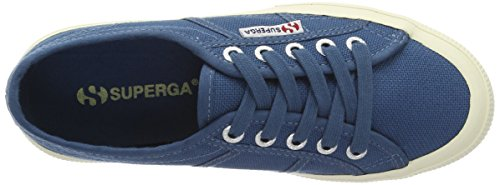 Sneaker 2750 top Cotu Smoky Classic Superga Adulte Mixte Blau blue Low BO1wnx
