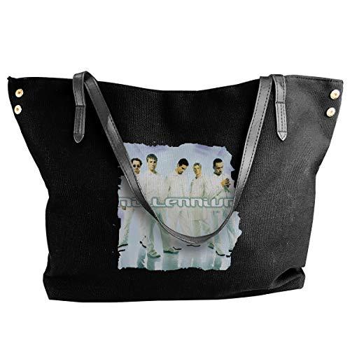 Canvas Tote Bag Backstreet Boys Millennium Logo Totes Purse Handbags Shoulder Bags For - Millennium Handbag Leather
