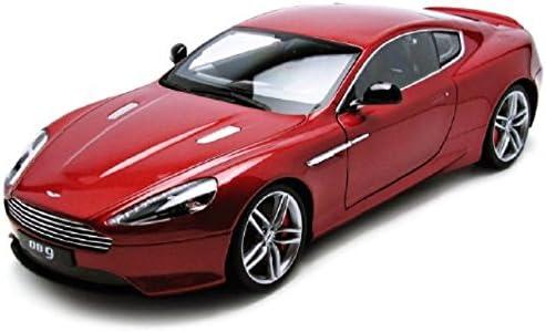 Modellino Auto Aston Martin Db9 Coupe Argento Scala 1:18 Welly 18045