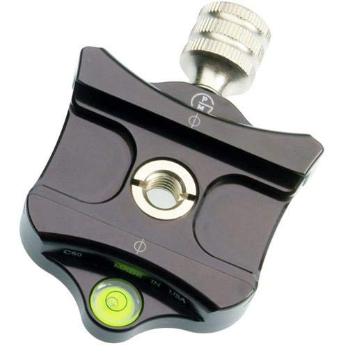 ProMediaGear C60 Compatible Quick Release Clamp, 1/4in-20 and 3/8in-16 Threads