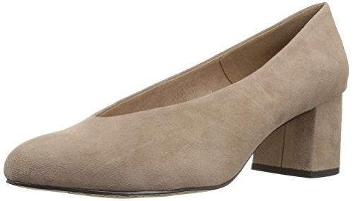 - Bella Vita Women's Jensen Dress Pump, Almond Suede, 8.5 M US