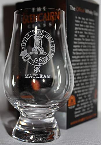 CLAN MACLEAN GLENCAIRN SINGLE MALT SCOTCH WHISKY TASTING GLASS
