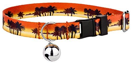 Country Brook Petz | Caribbean Sunset Cat Collar