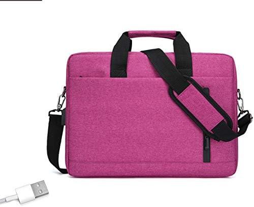 """Poooooi Herren Laptoptasche USB-Buchse Aktentasche College Student Weekend Gepäckbüro 15""""~ 16"""" Herren Und Damen Umhängetaschen Umhängetasche Handheld"""