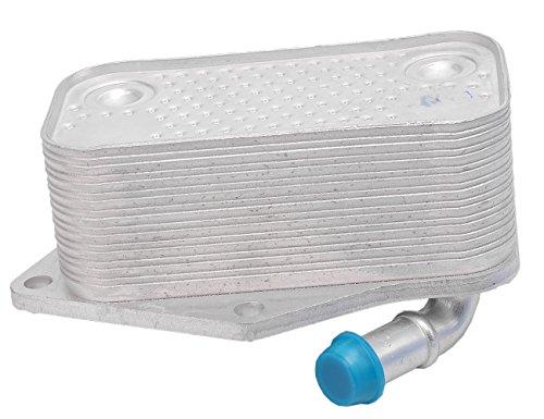 Volkswagen Golf Oil Cooler - TOPAZ 07K117021C Engine Oil Cooler for Volkswagen Beetle Golf Jetta Passat 2.5L