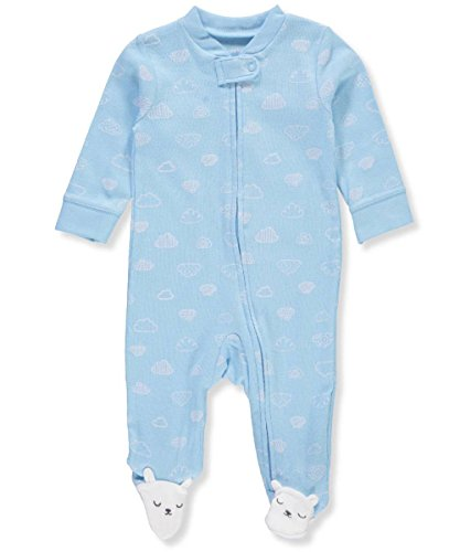 Carter's Baby Boys' Cloud Zip Up Cotton Sleep & Play 6 (Bunny Sleeper)