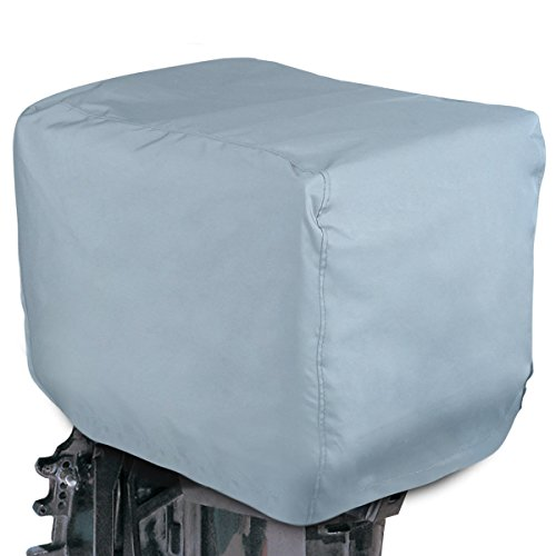 Best Price! Leader Accessories Trailerable Outboard Motor Hood Cover, Waterproof Engines Cover, Full...