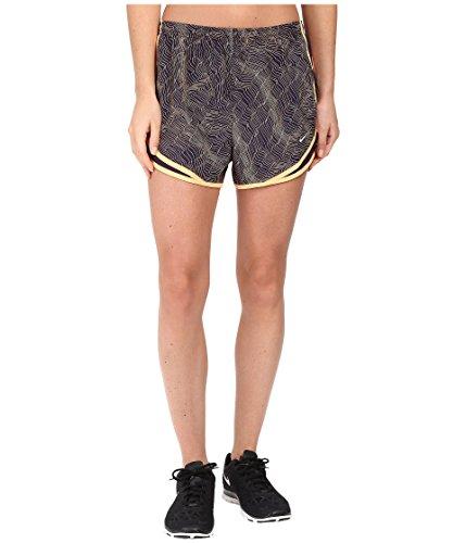 Nike Dry Tempo Print Running Short Purple Dynasty/Purple Dynasty/Wolf Grey Women's Shorts