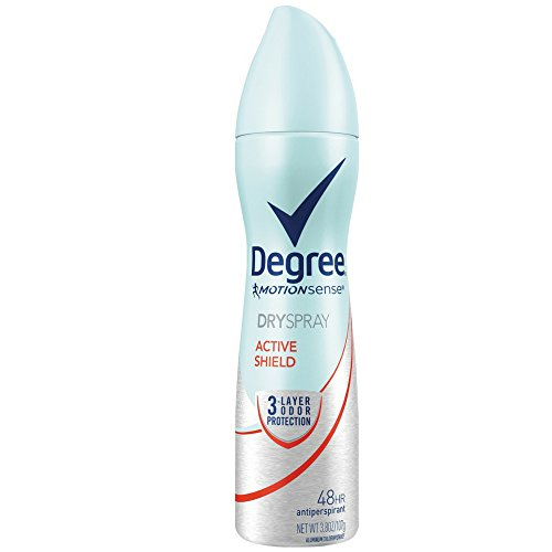 Degree Motion Sense Dry Spray - Active Shield - 3.8 oz - EX