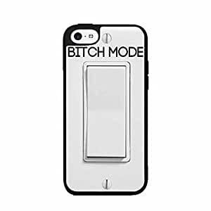 Bitch Mode food Switch 2-Piece orange Dual Layer Phone Case Back USA Cover iphone 5c sour