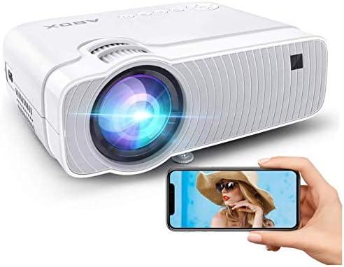 【2020最新版】小型プロジェクター LED 5000lmHD対応 高画質 ホームシアター 720P WiFi接続可 1920×1080P最大解像度