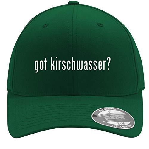 got Kirschwasser? - Adult Men's Flexfit Baseball Hat Cap, Forest, - Forest Cherry Brandy