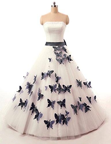 vantexi-womens-strapless-wedding-dress-formal-prom-gown-ivory-black-24