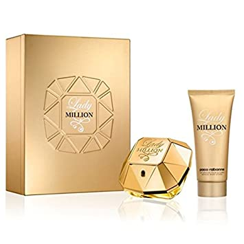 Lady 50 Coffret 100 Parfum Million Corps Eau MlLait De 54RjLc3AqS