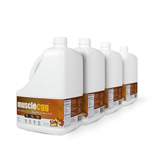 100% Chocolate Caramel Liquid Egg Whites (4 Gallons) by MuscleEgg