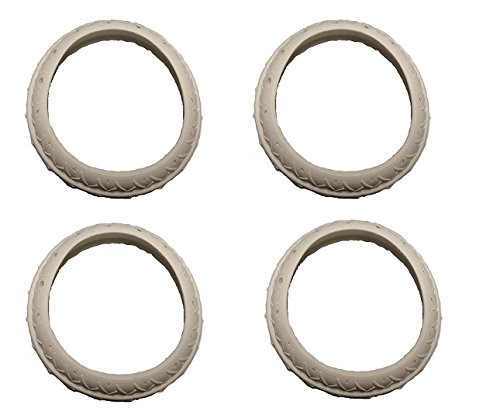 Pool Platinum Cleaner Legend (4 Pack Pool Cleaner Tire Replacement For Letro Legend Platinum LLC1PM)