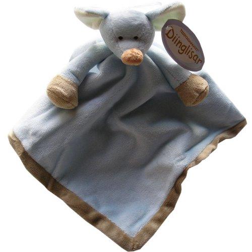 Blue Mouse Teddykompaniet Soft Cuddle Blanket Comfort Blanket