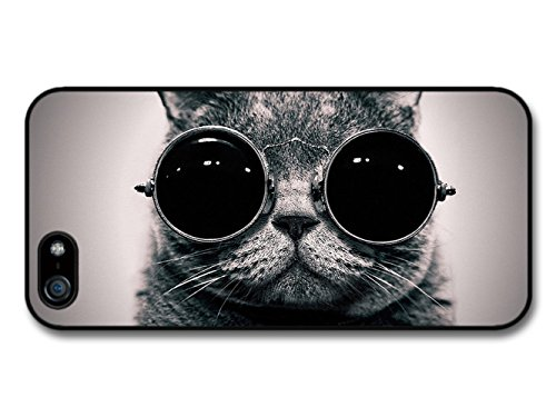 Funny Cat Animal Sunglass iPhone 5 Case