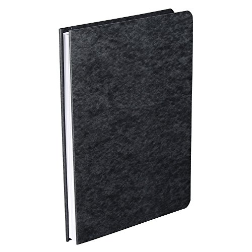 Office Depot Pressboard Side-Bound Report Binders with Fasteners, 60% Recycled, Black, Pack of 10, A7025125