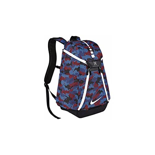 Nike Hoops Elite Max Air Team 2.0 Basketball Backpack Navy Blue Red White  882a867c16a20