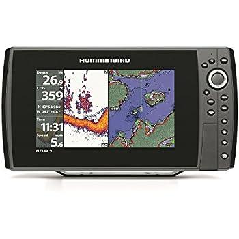 Humminbird 409920-1 HELIX 9 Sonar GPS Fishfinder