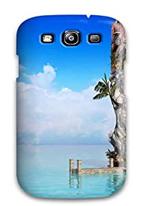 For OfGGawK5427hYthy Sea House Protective Case Cover Skin/galaxy S3 Case Cover