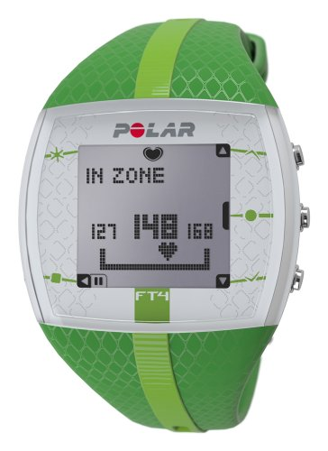 Polar USA Unisex FT4 Green/Green Watch (Womens Heart Series Watch)