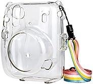 LEDMOMO Capa protetora transparente para ombro a tiracolo, antiarranhões, à prova de choque, capa de plástico