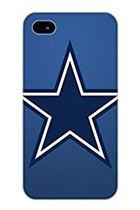 Ideal Tryagain Case Cover For Iphone 4/4s(DALLAS COWBOYS Nfl Football T), Protective Stylish Case