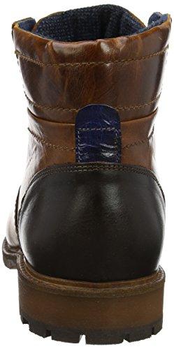 Bertie Clef, Stivali Uomo Marrone (Tan Leather)
