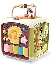 MOTINGDI BIL Intelligent utbildning baby aktivitet kub barn klappa trummis musik piano nyckelbox hand öga koordinering instrument leksak gåva