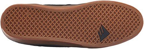 Emerica the Hsu Low Vulc, Zapatillas de Skateboarding para Hombre, Negro Negro