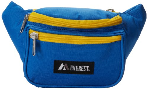 Everest Signature Waist Pack - Standard, Royal Blue, One Size