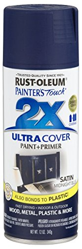 Rust Oleum 249854 Painteru0027s Touch Multi Purpose Spray Paint, 12 Ounce, Satin