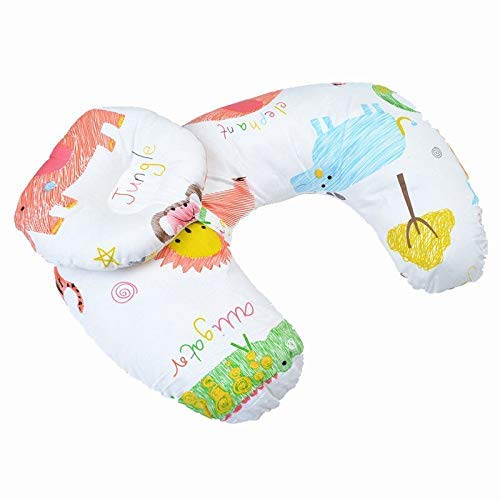 Baby Nursing Pillow for Breastfeeding Infant Pregnancy Cotton Cushion Adjustable Head Positioner - Mothers Touch Sleep Positioner