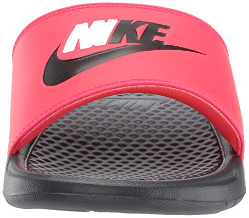 Nike Men's Benassi Just Do It Athletic Sandal, red orbit/black - anthracite, 8 Regular US by Nike (Image #4)