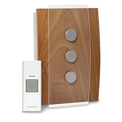 Honeywell RCWL3503A1000/N Decor Wireless Door Chime and Push Button by Honeywell
