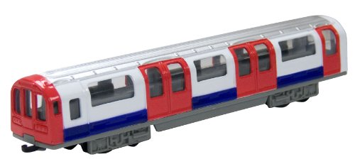 Richmond Toys Motormax 6-inch Traditional London Underground Tube Train Die-Cast Collector Edition 1:100 Scale (London Toy)