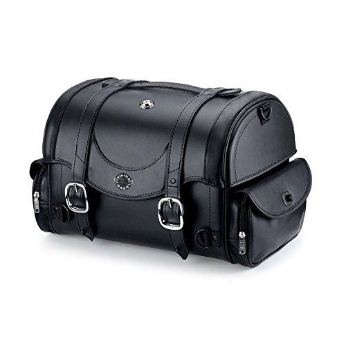 Viking Bags Century Series Leather Motorcycle Sissy Bar Bag