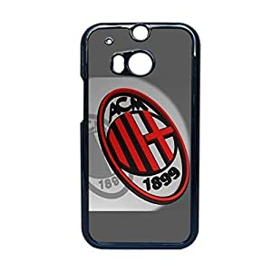 Nice Back Phone Case For Girl Printing Ac Milan For Htc One M8 Choose Design 8 BY supermalls