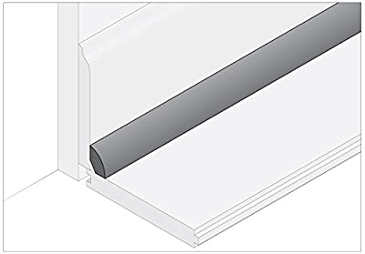 "Moldings Online 2008196024 96"" x 0.75"" x 0.468"" Natural Semi-Gloss White Oak Base Shoe"