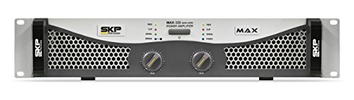 SKP Pro Audio Max-320 Stereo Output RMS Power 150 W Plus 150 W Powered Amplifier by SKP Pro Audio