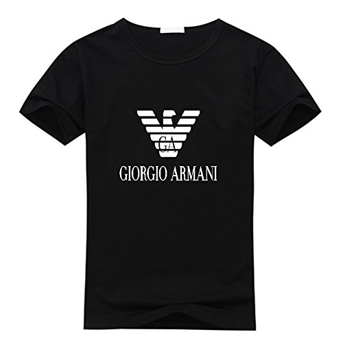 emporio-armani-logo-mens-classic-short-sleeve-cotton-t-shirt-medium-black